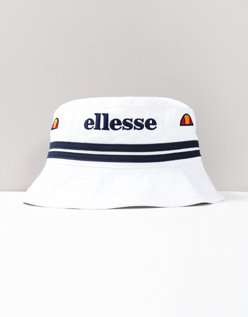 Ellesse Lorenzo Bucket Hat White