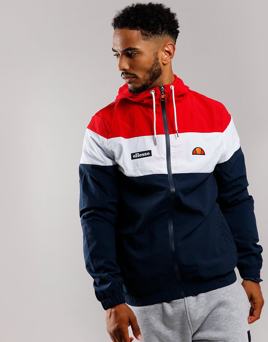 Ellesse Mattar Jacket Navy/Red
