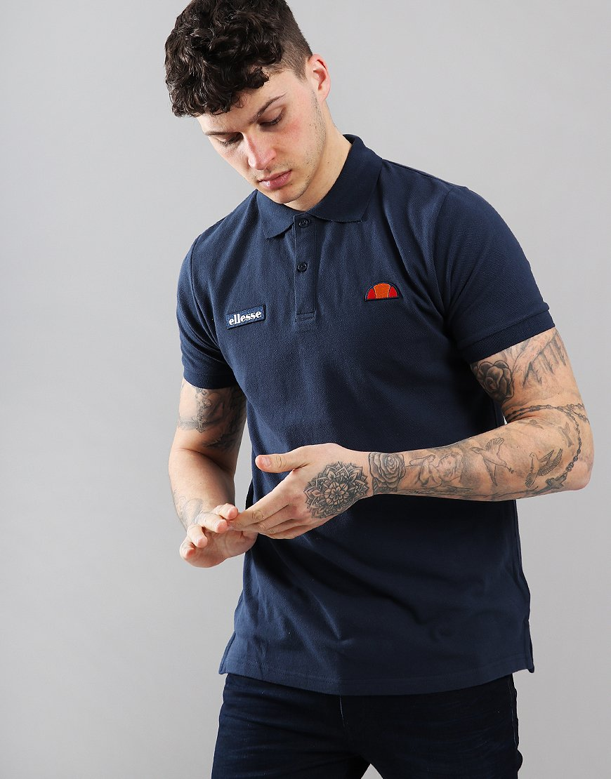 Ellesse Montura Polo Shirt Navy