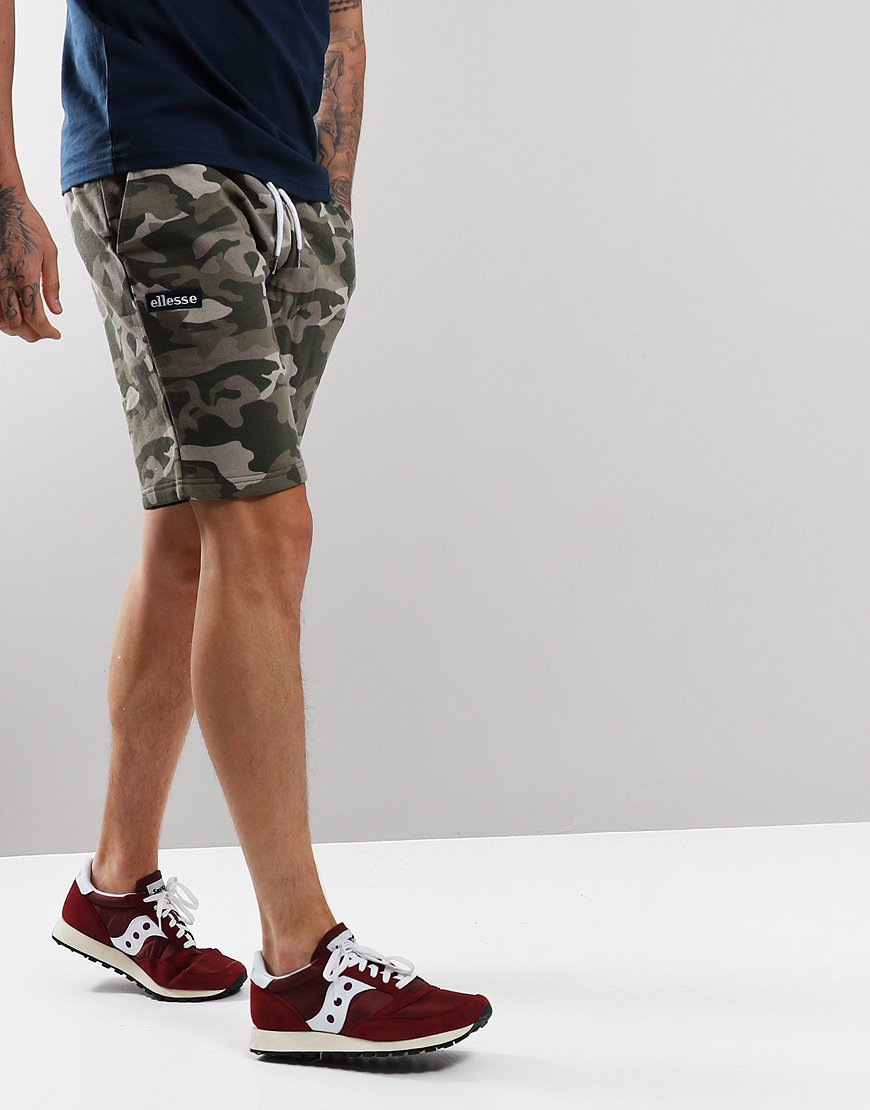 Ellesse Noli Sweat Shorts Camo