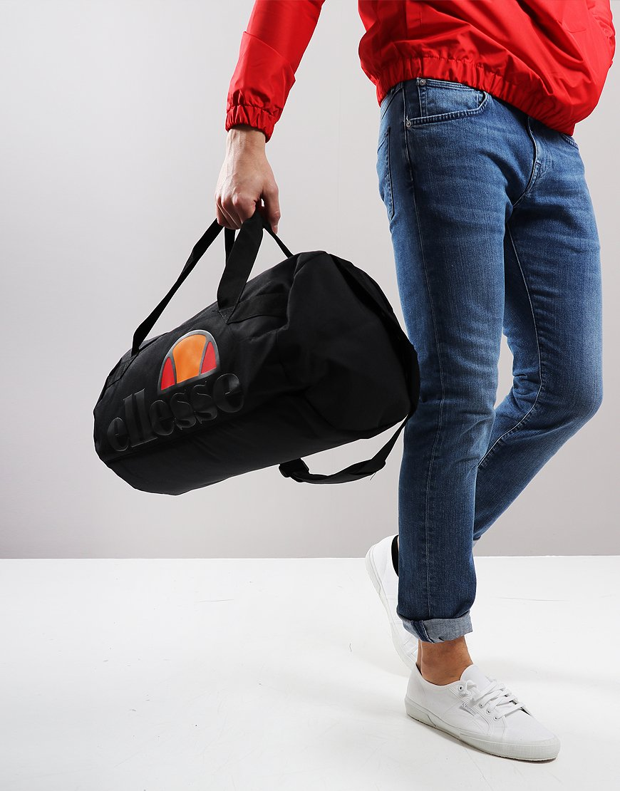 Ellesse Pello Barrel Bag Black