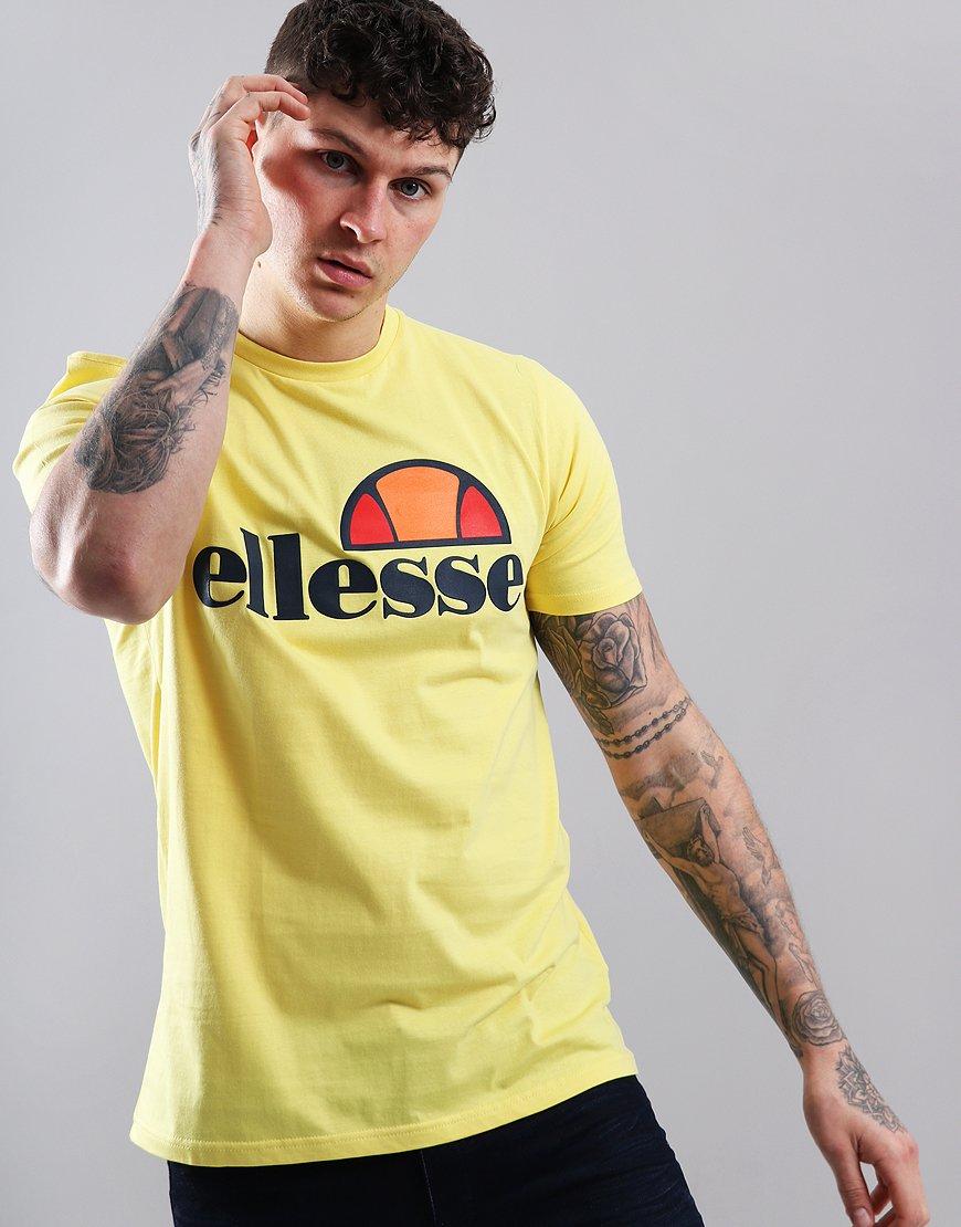 Ellesse Prado T-Shirt Light Yellow
