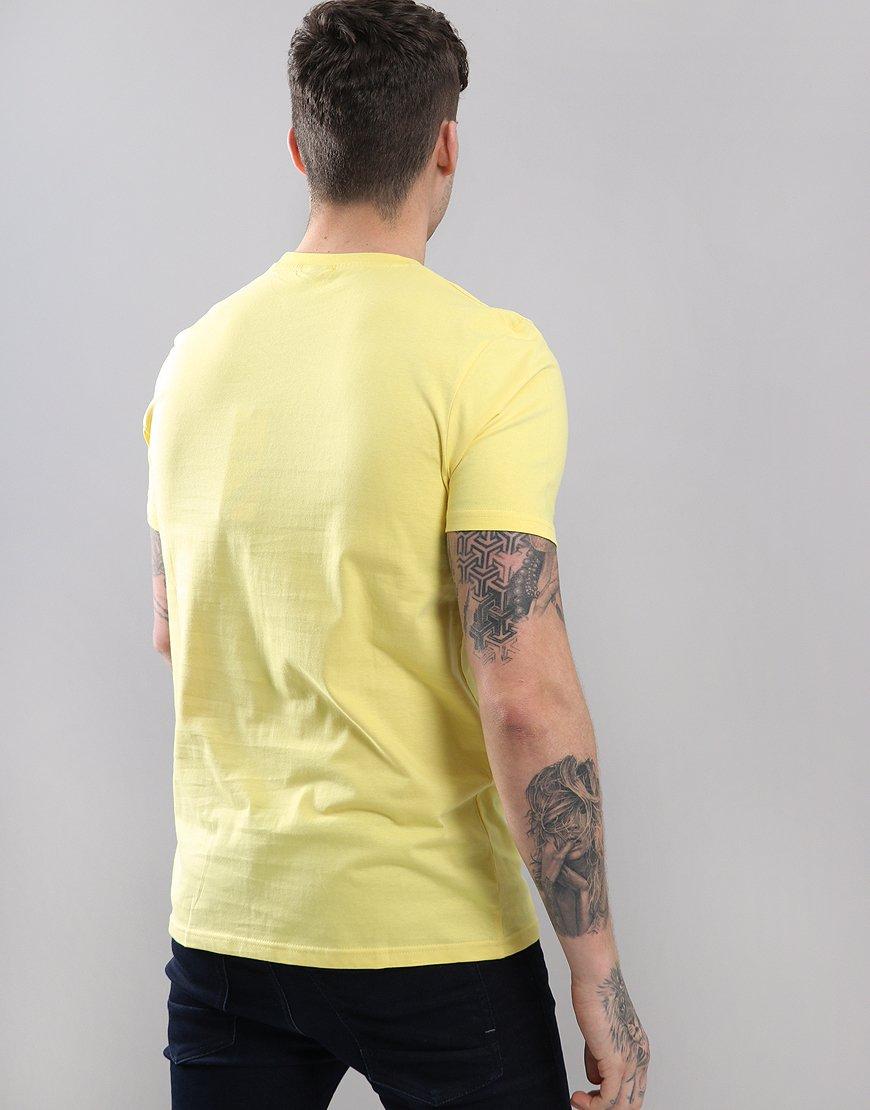 abf1544d Ellesse Prado T-Shirt Light Yellow