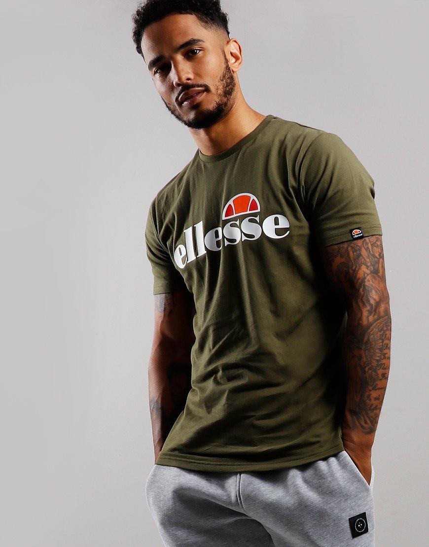Ellesse Prado T-Shirt Khaki