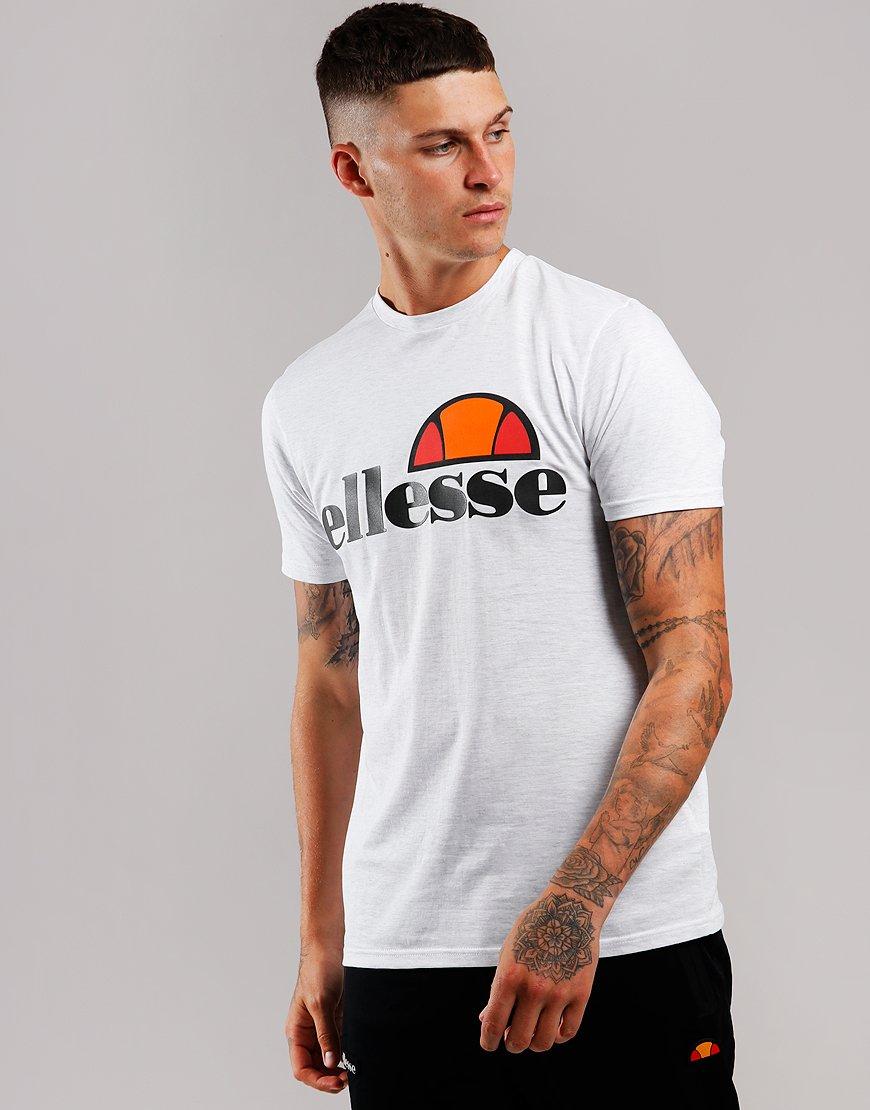 3ce62b1e Ellesse Prado T-Shirt White Marl