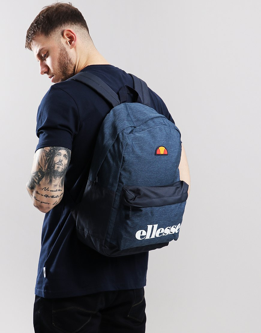 Ellesse Regent Backpack Navy - Terraces Menswear 6e36c89a9b340