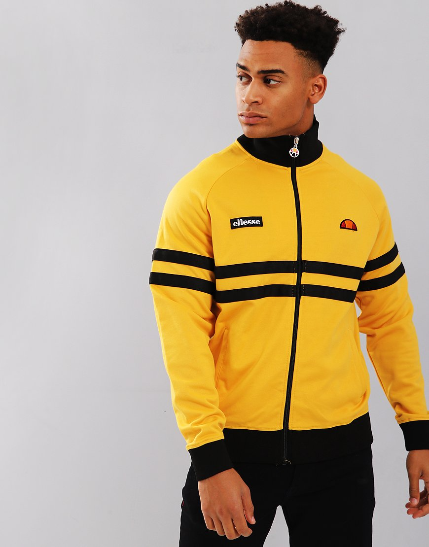 Ellesse Rimini Track Top Yellow/Black
