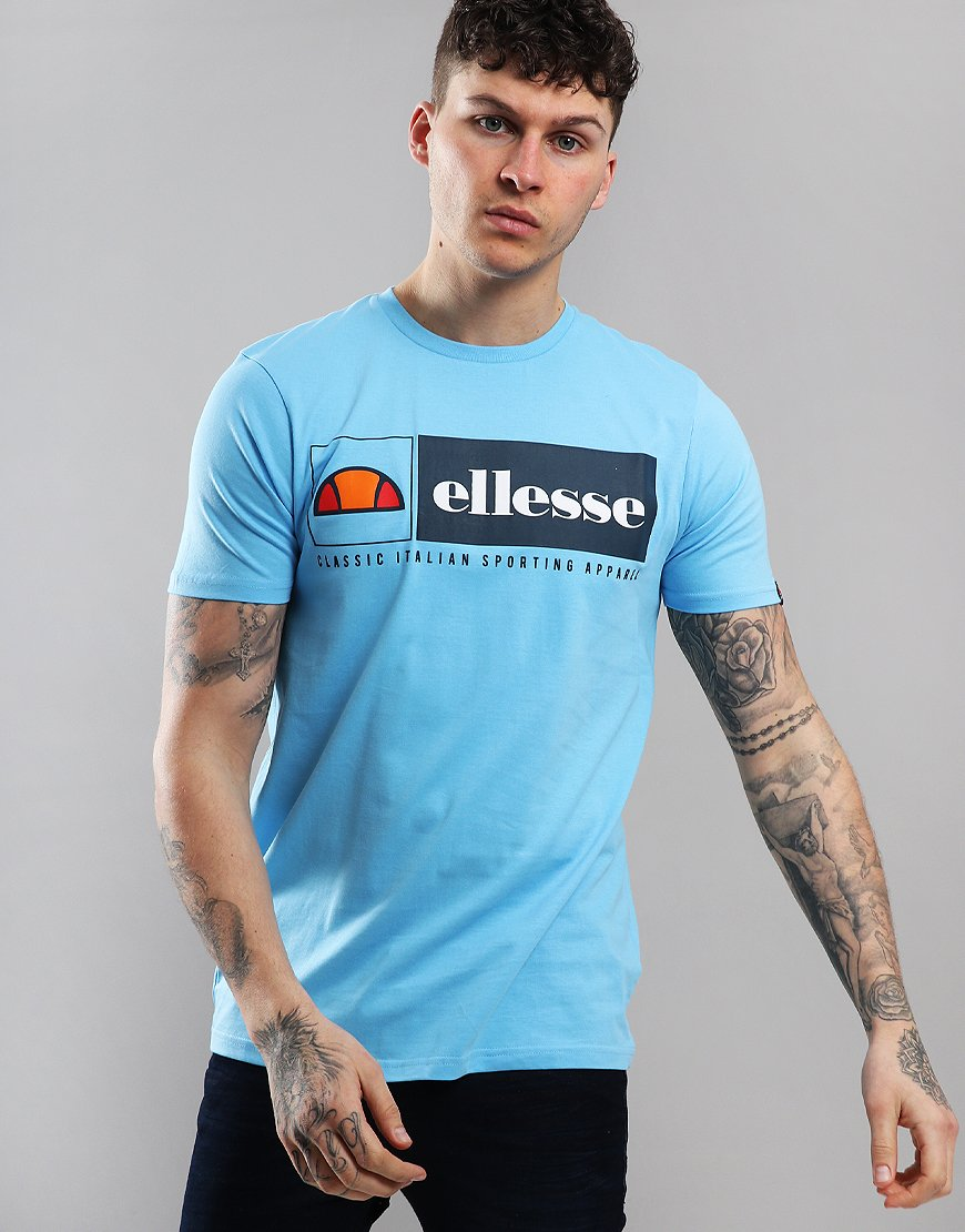 Ellesse Riviera T-Shirt Light Blue