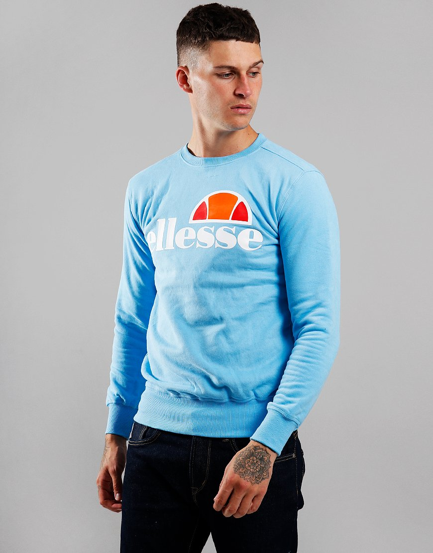 Ellesse Succiso Crew Sweat Light Blue