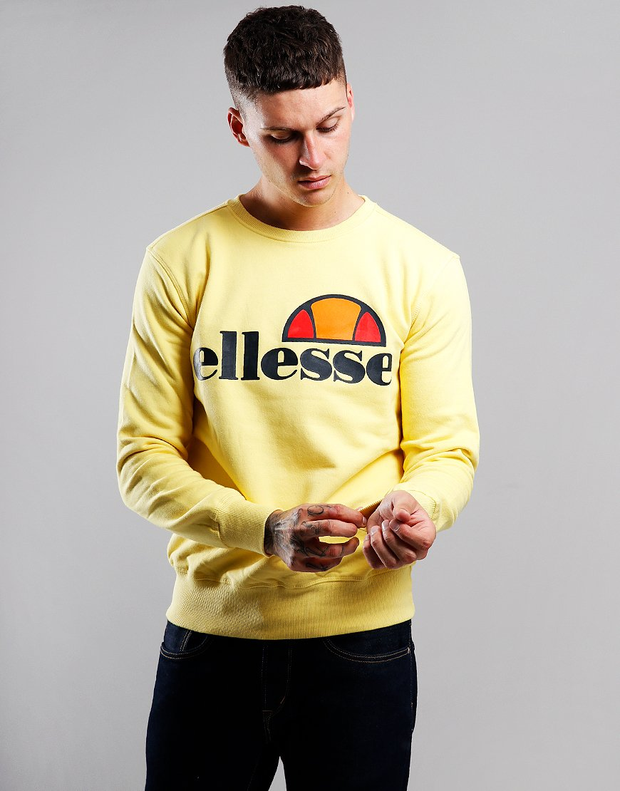 Ellesse Succiso Crew Sweat Yellow