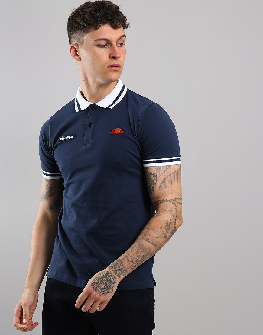 Ellesse Trido Polo Shirt Navy