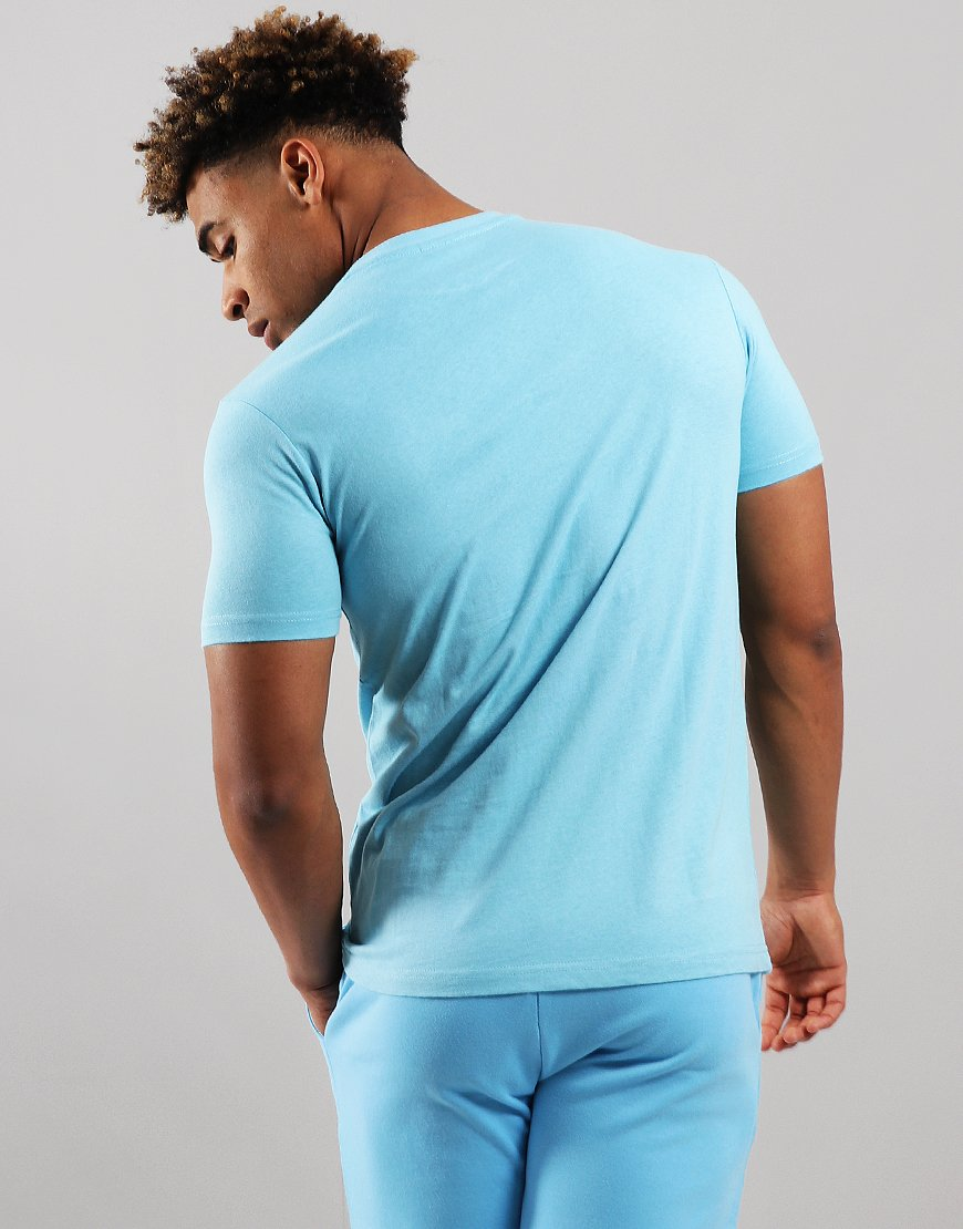 fa04fb26343566 Ellesse Voodoo T-Shirt Light Blue - Terraces Menswear