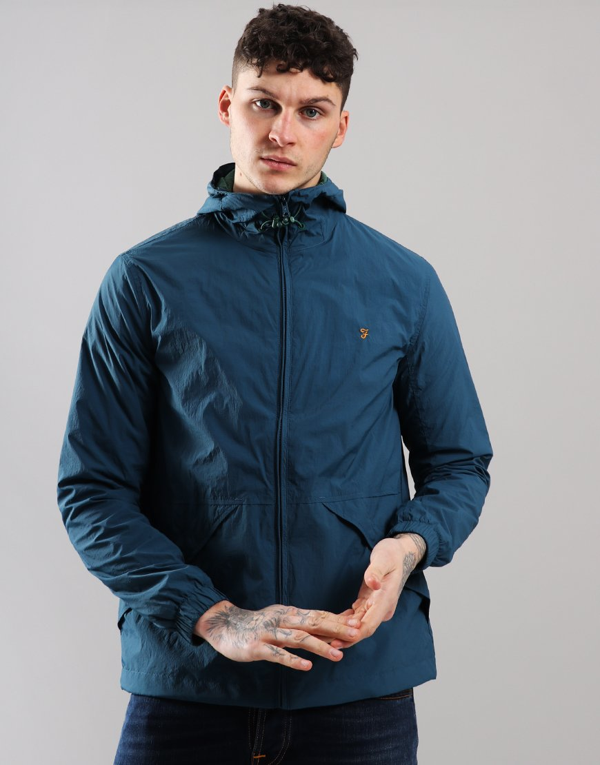 Farah Astoria Jacket Blue Star
