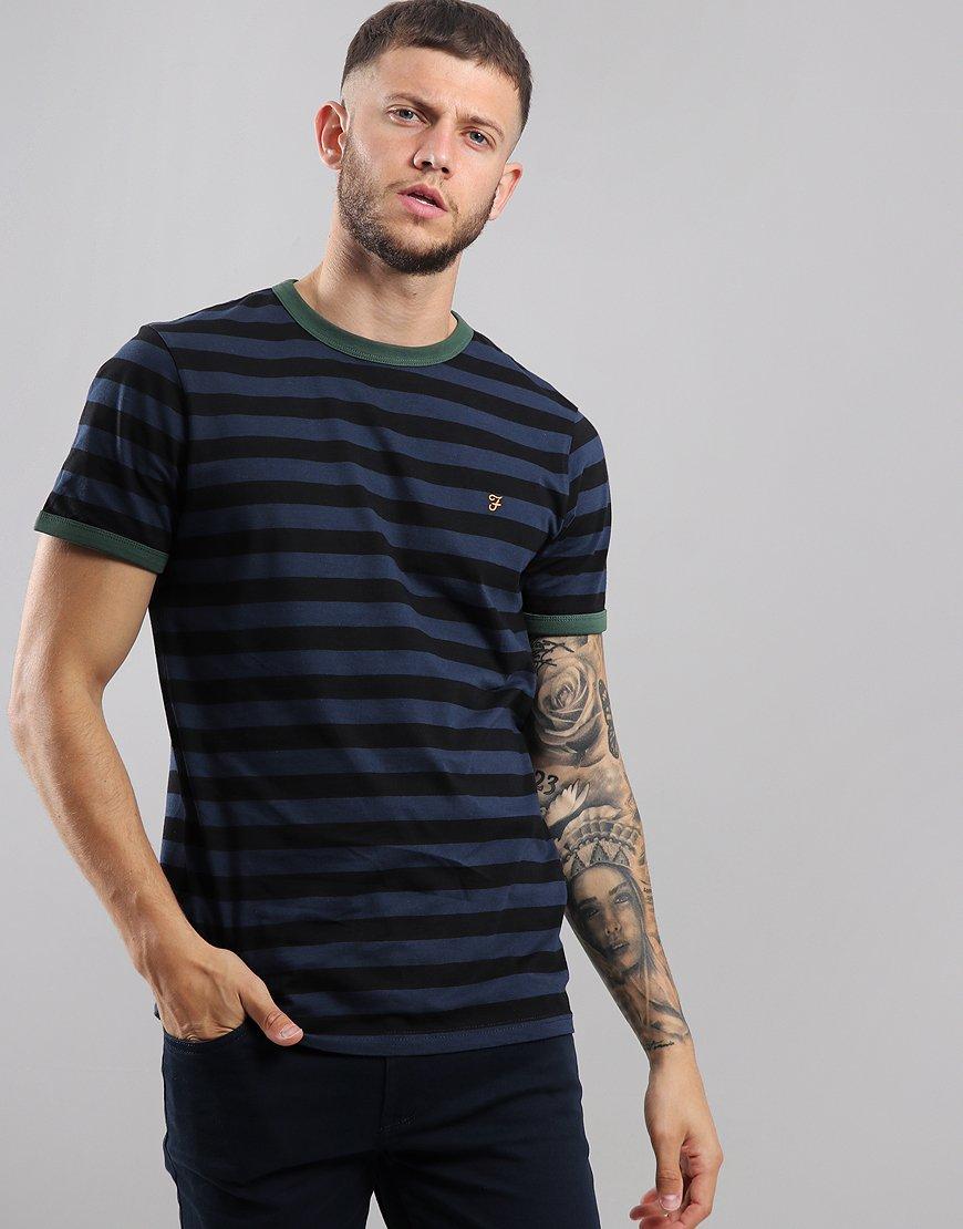 Farah Belgrove T-Shirt  Deep Black