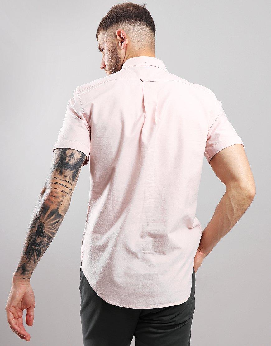 Farah Brewer Slim Fit Shirt Pink