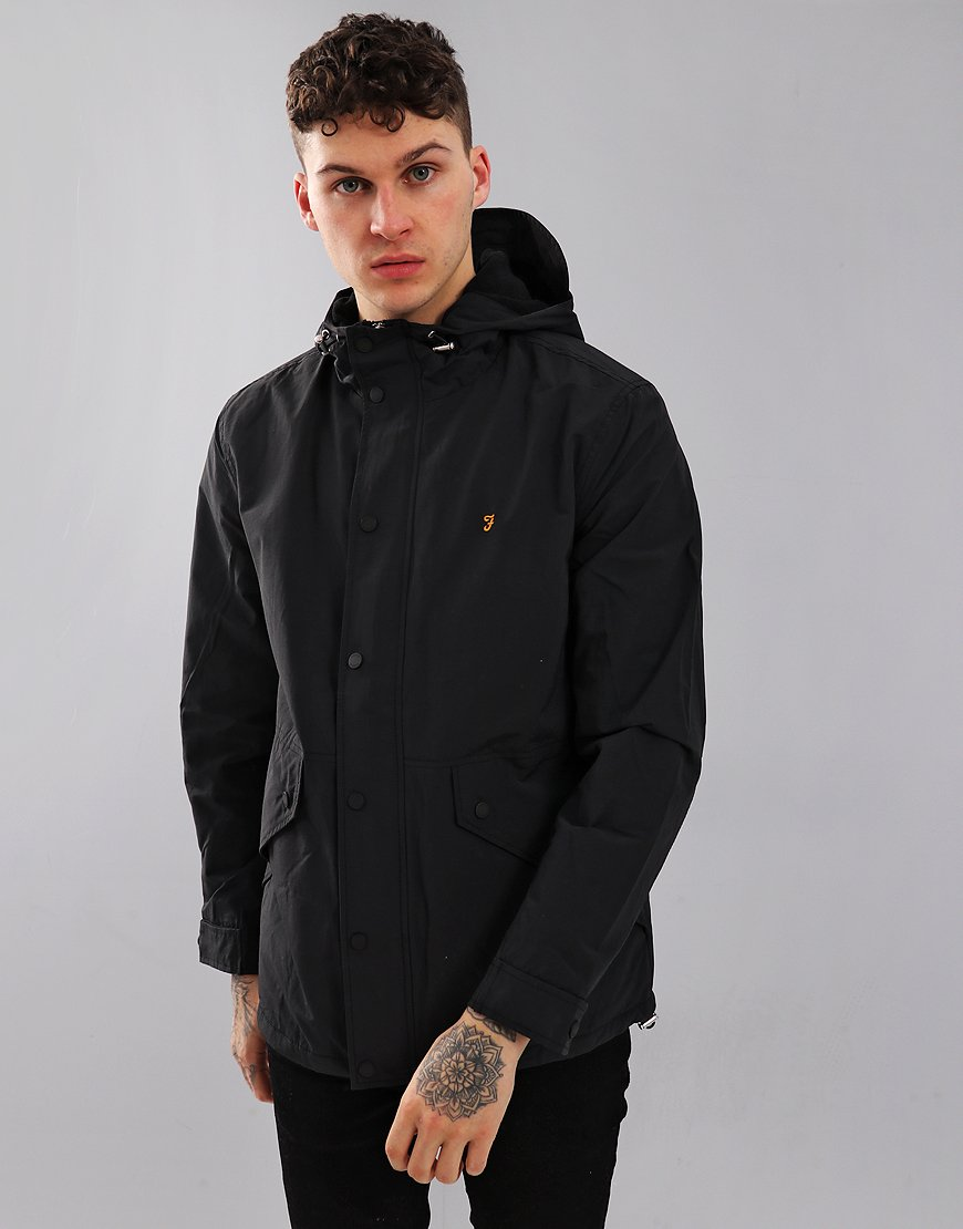 Farah Brodie Jacket Black