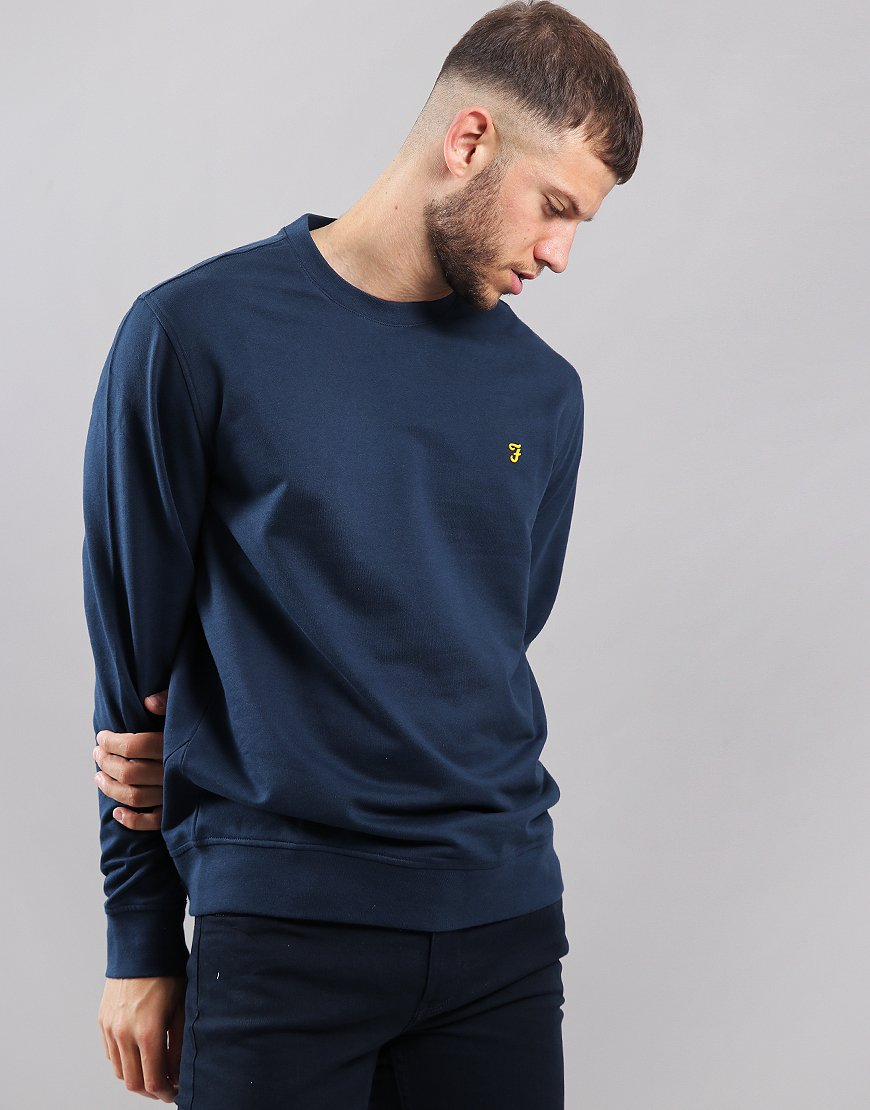 Farah Cheadle Crew Neck Sweat Yale