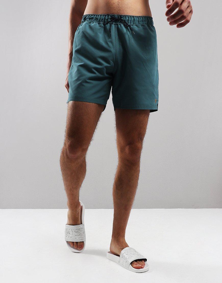 Farah Colbert Swim Shorts Green Biscuit
