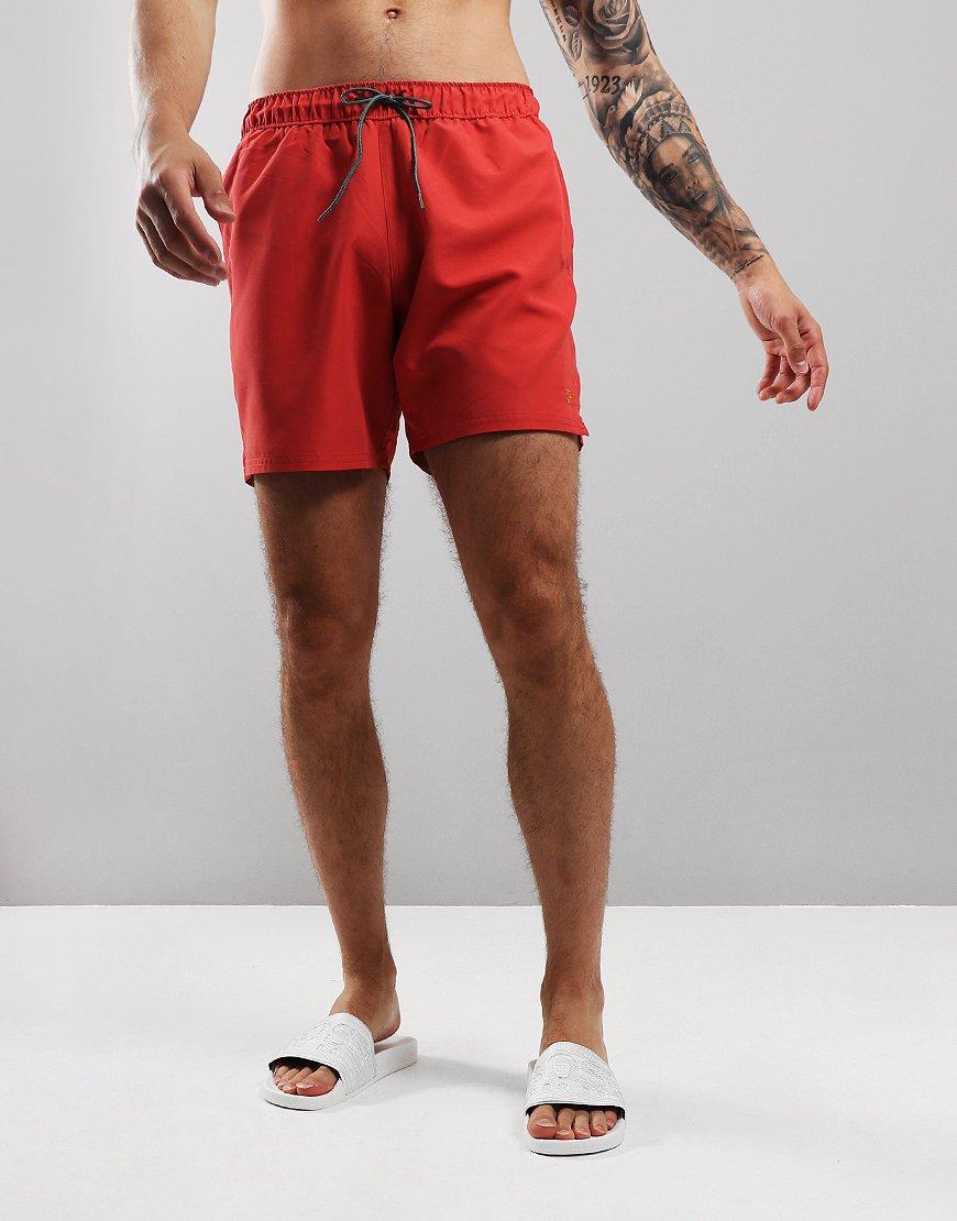 Farah Colbert Swim Shorts Red Coat