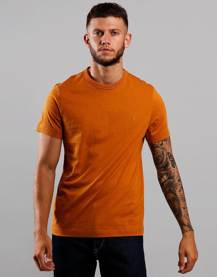 Farah Dennis T-shirt  Gold Marl