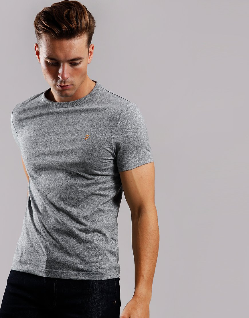 Farah Dennis T-Shirt Gravel Marl