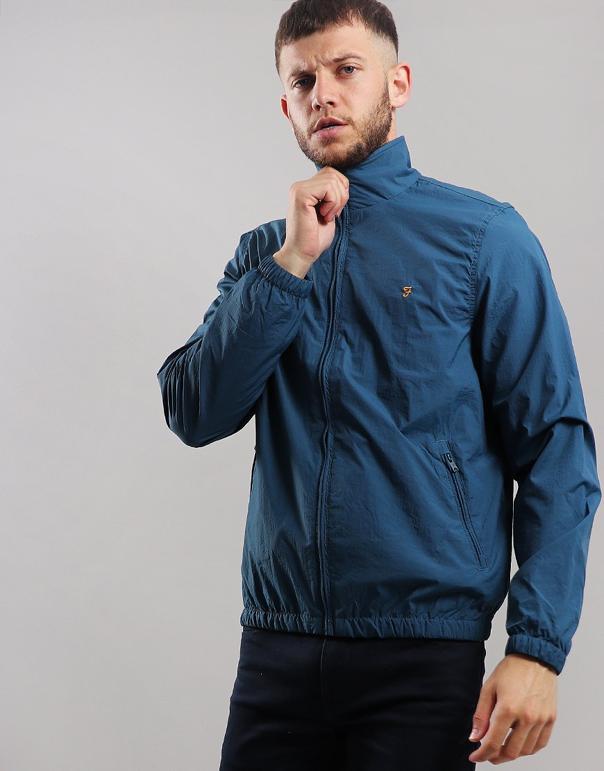 Farah Dougans Blouson Jacket Blue Star
