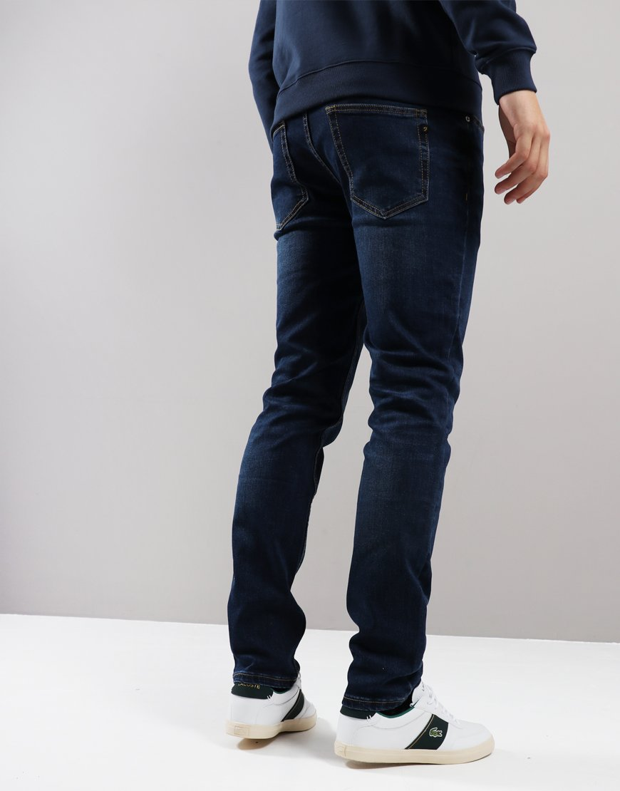 Farah Drake Skinny Fit Soft Stretch Jeans Mid Denim