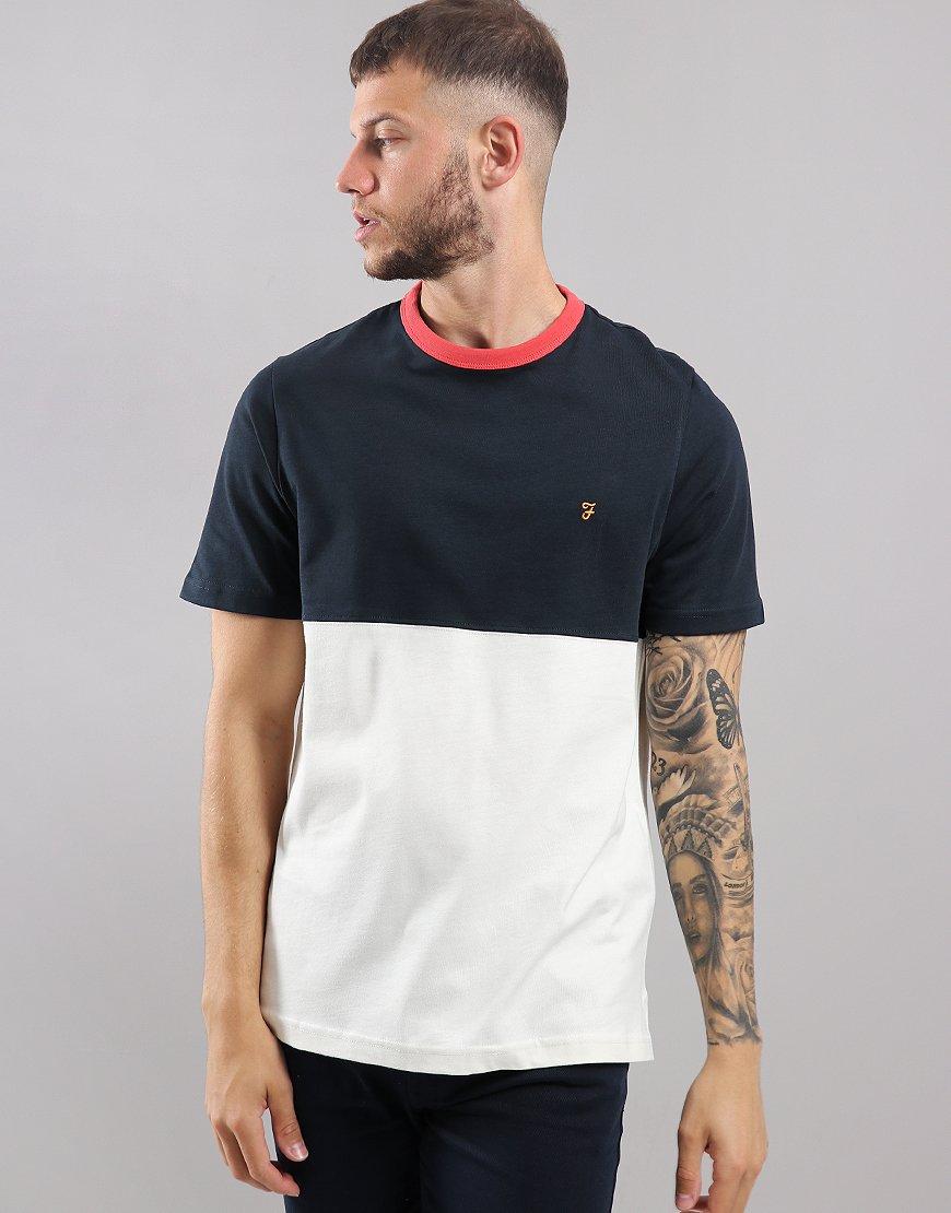 Farah Ewood T-Shirt  True Navy