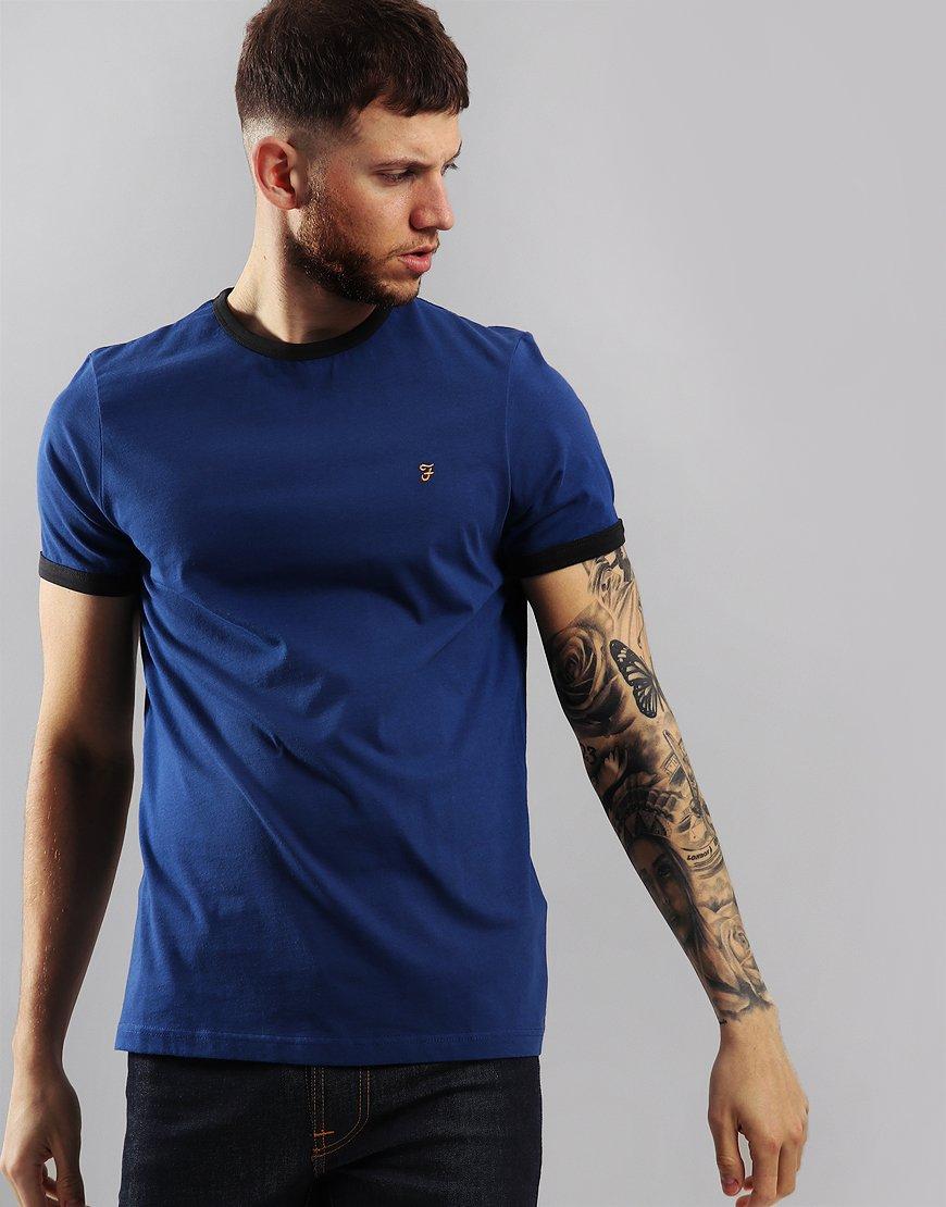 Farah Groves T-Shirt Neon Blue