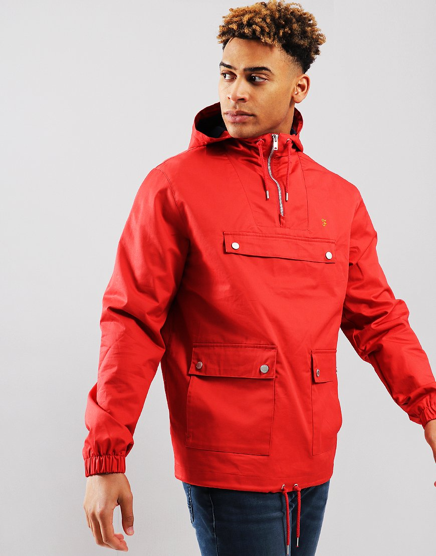 Farah Hartnoll Jacket Red Coat