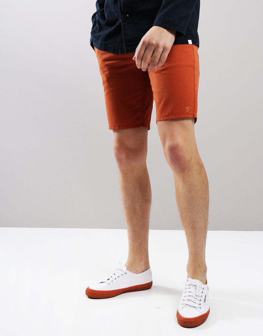 Farah Hawk Chino Shorts Goldfish