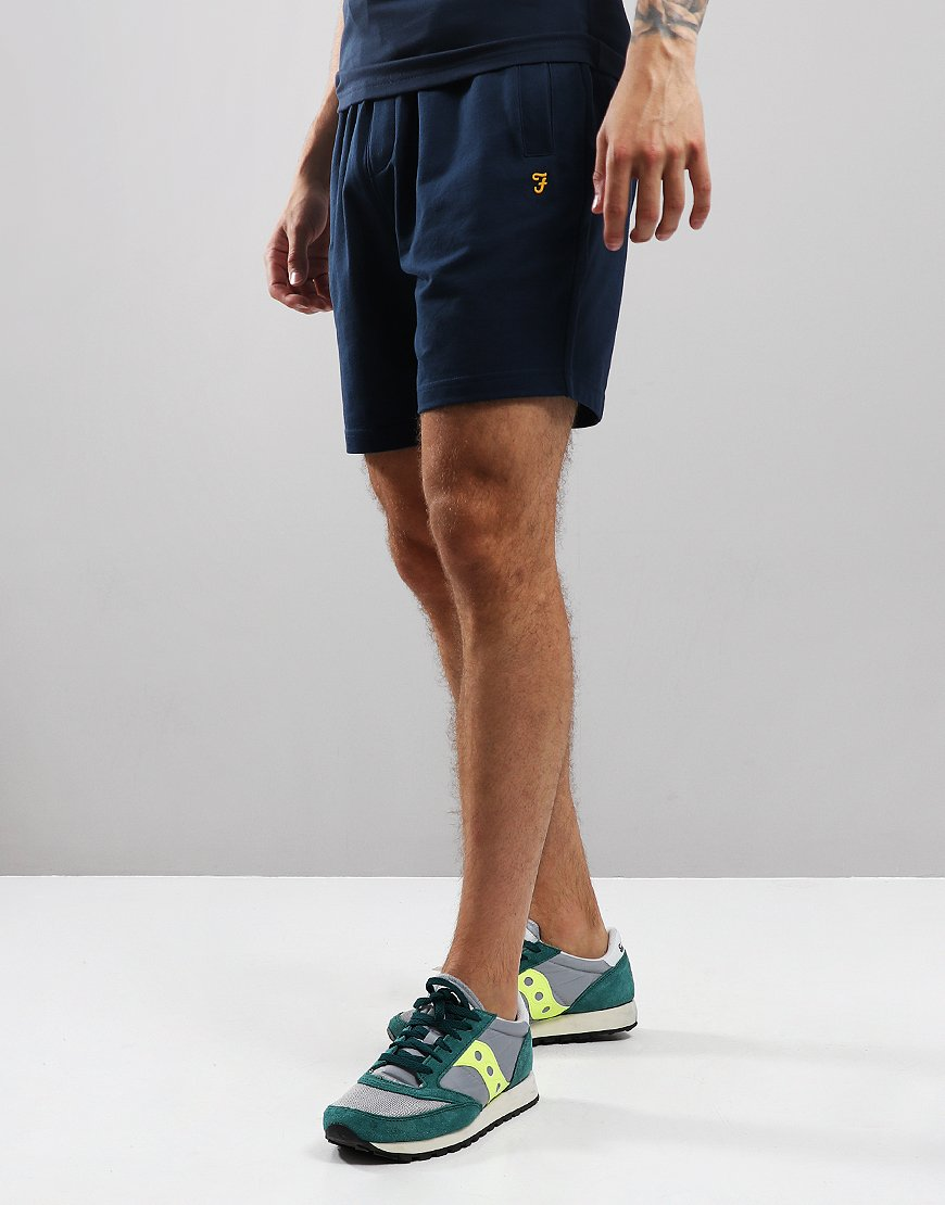 Farah Hilton Drawcord Jersey Shorts Yale