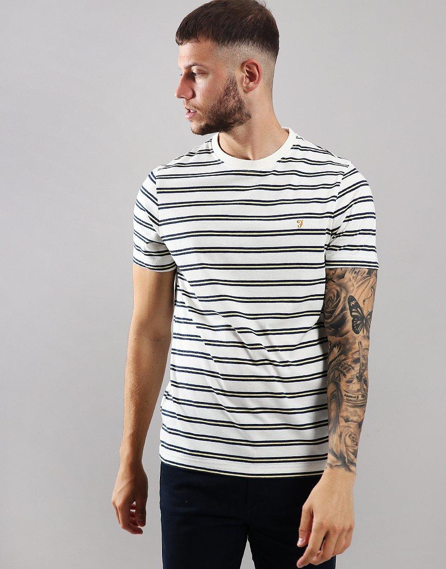 Farah House Slim Fit T-Shirt Ecru