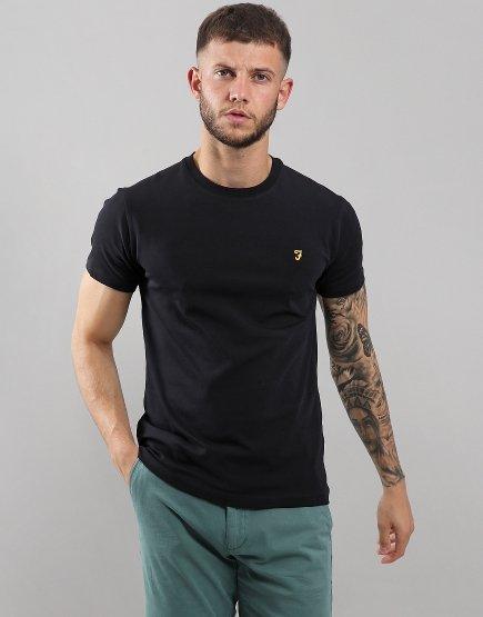 Farah Robins T-Shirt  Deep Black