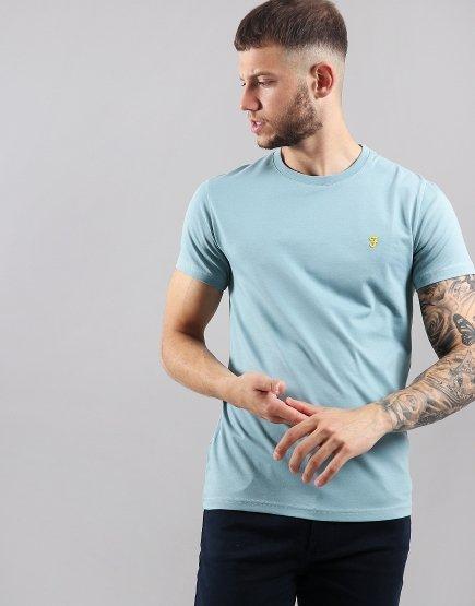Farah Robins T-Shirt  Cool Aqua