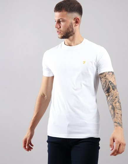 Farah Robins T-Shirt  White