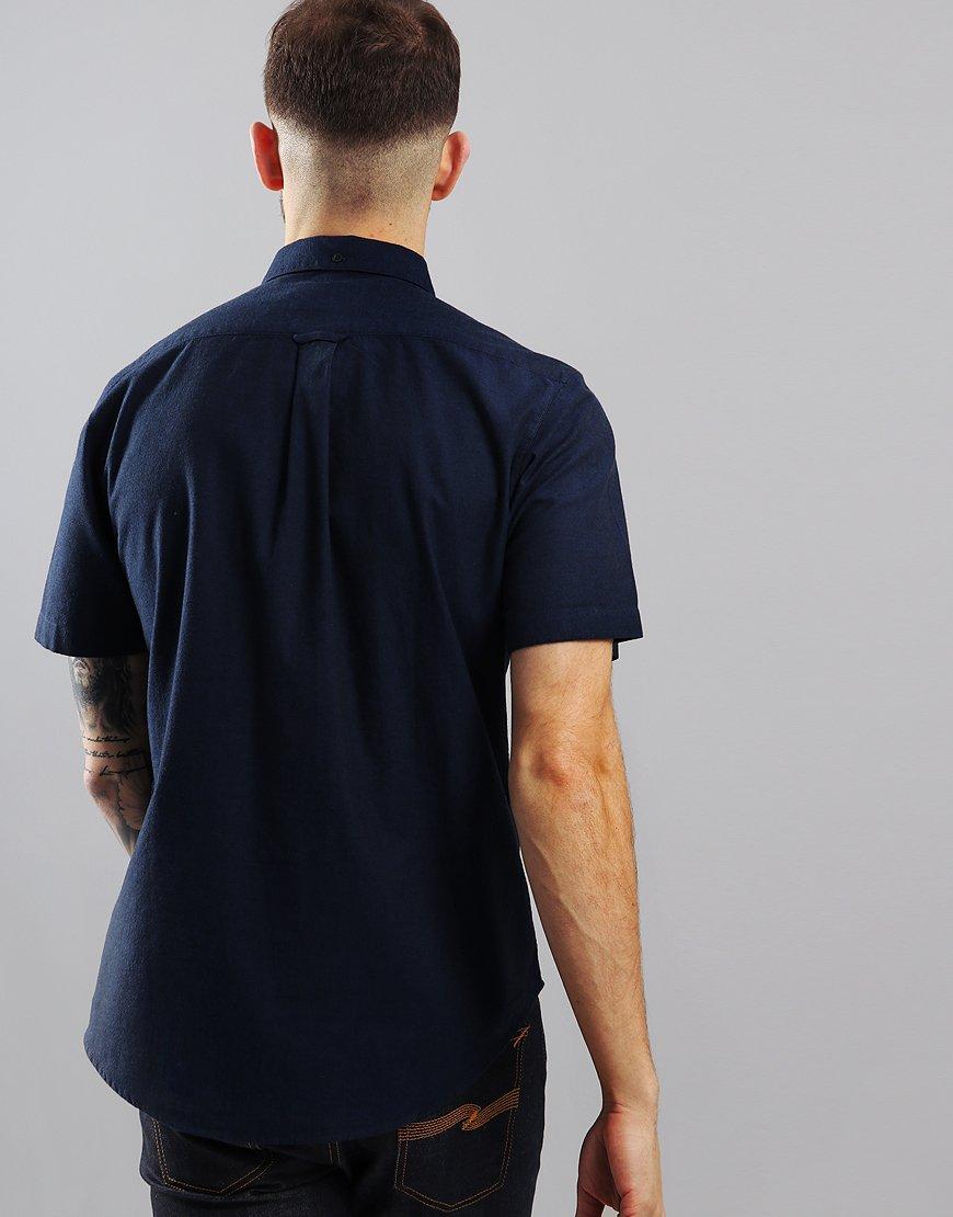 Farah Steen Short Sleeve Shirt True Blue