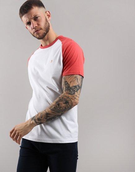 Farah Zemlak T-Shirt  Red Coat