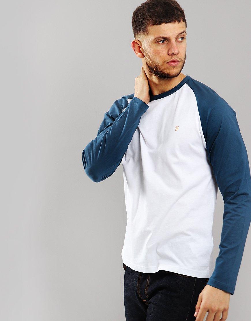 Farah Zemlak Long Sleeved T-Shirt Blue Star