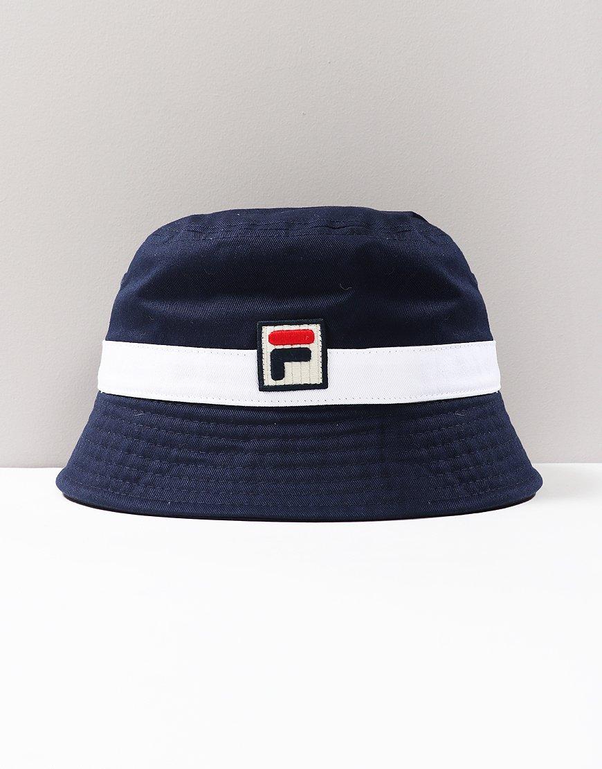 3bdacae4a77e00 FILA Vintage Basil Bucket Hat Peacoat