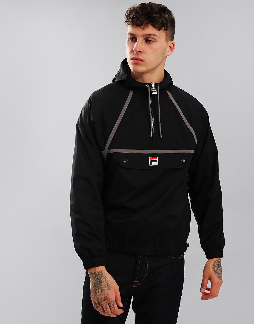 Fila Vintage Batwing Jacket Black