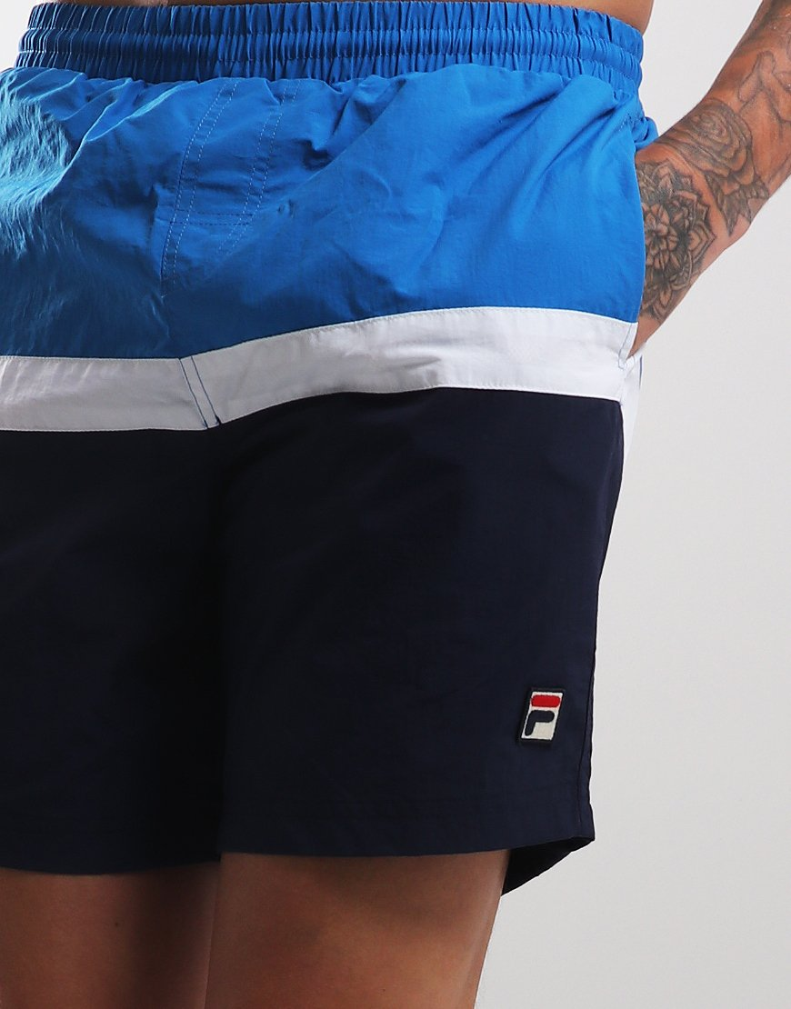 46fc637ad0 Fila Vintage Peter Swim Shorts Directoire Blue - Terraces Menswear
