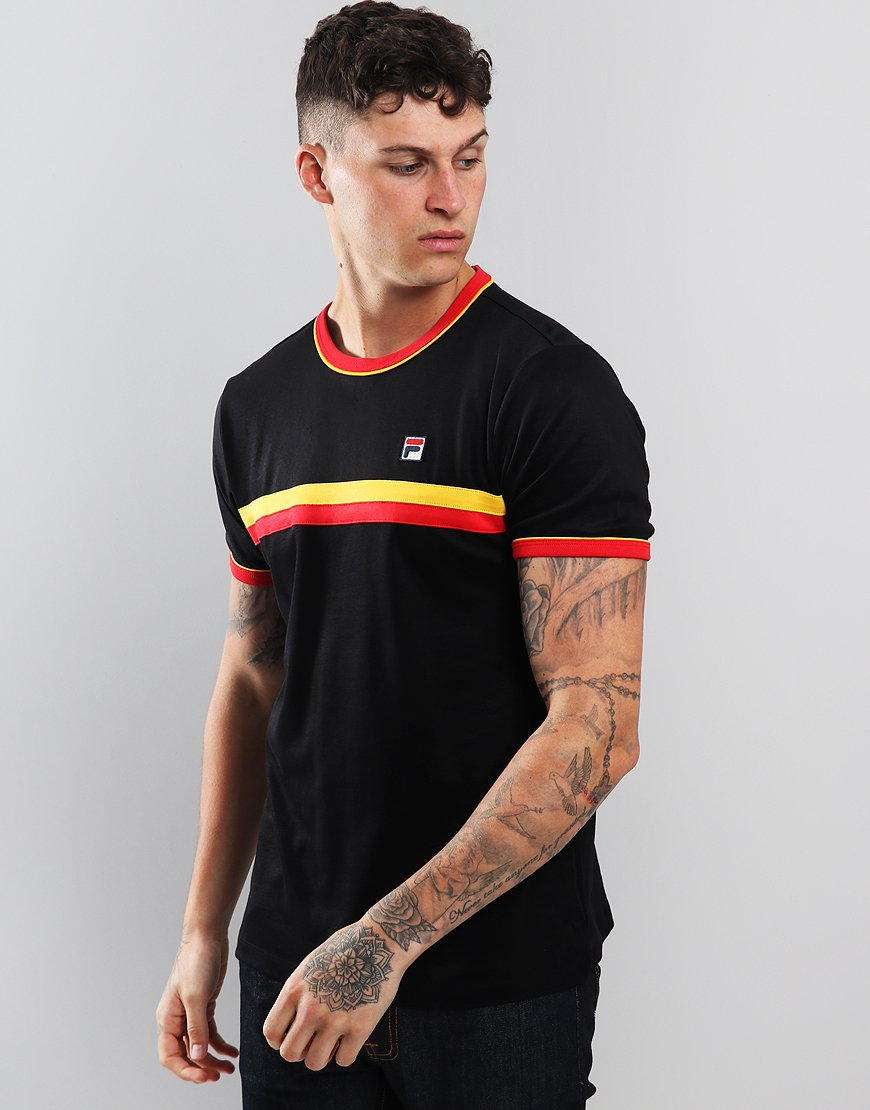 Fila Vintage Razee T-Shirt Black