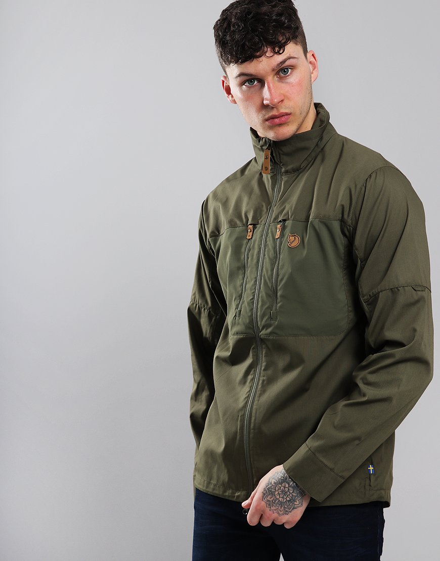 Fjällräven Abisko Shade Jacket Laurel Green