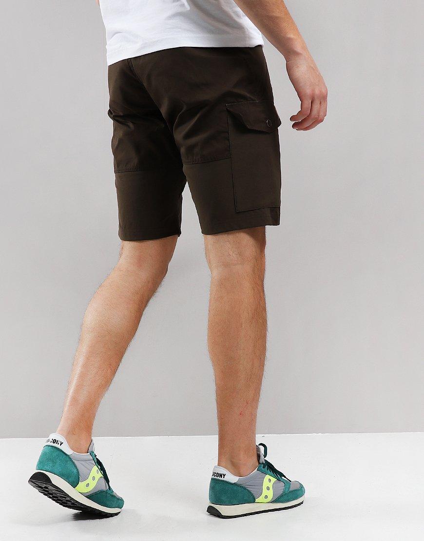 Fjällräven Abisko Cargo Shorts Dark Olive