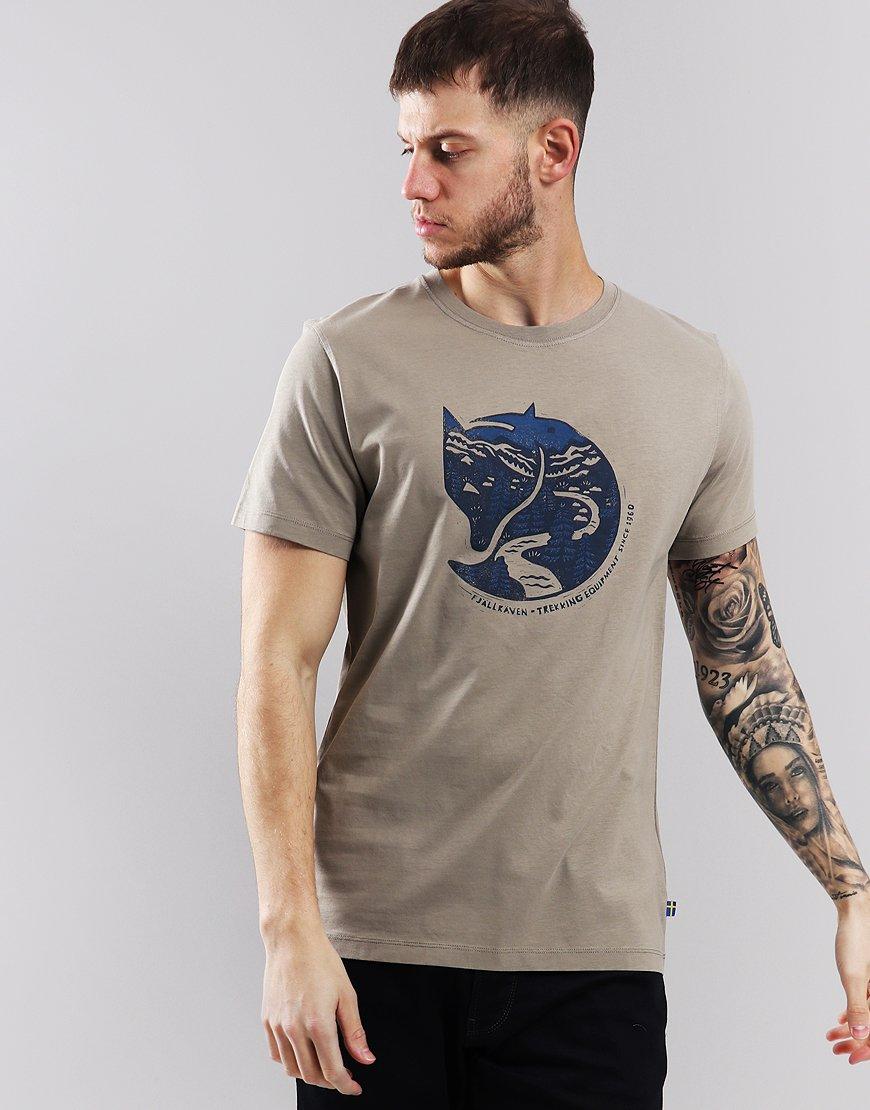 Fjällräven Arctic Fox T-shirt Fog