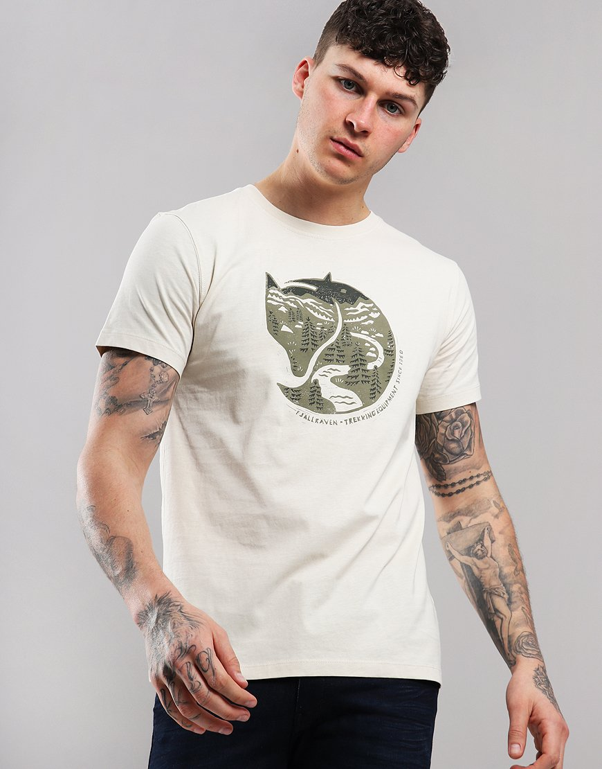 Fjällräven Arctic Fox T-shirt Chalk White