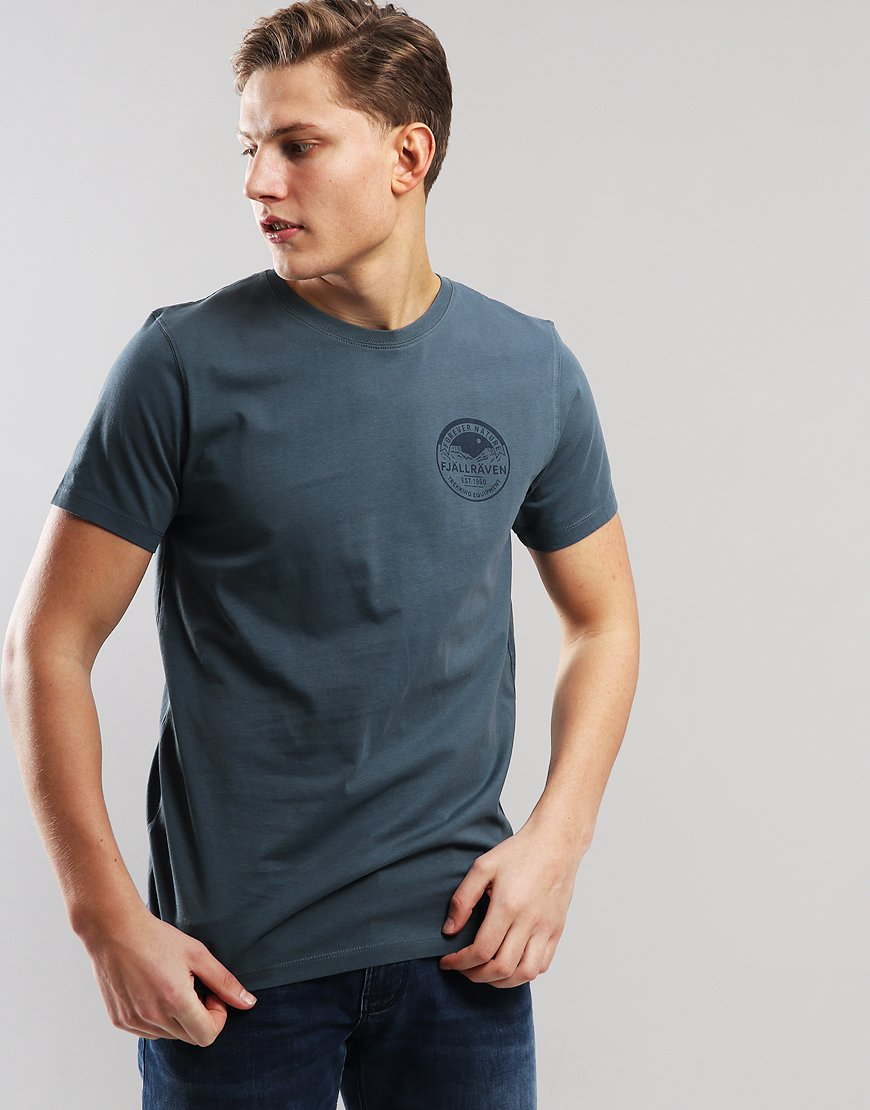 Fjällräven Badge  T-shirt Dusk