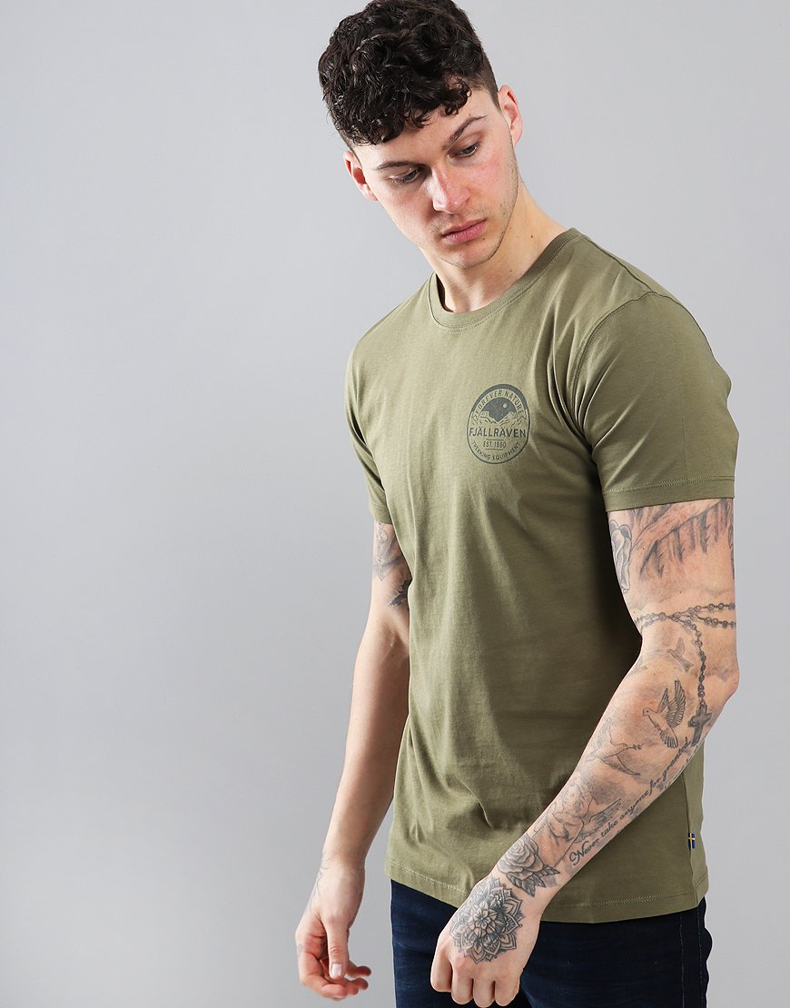 Fjällräven Badge T-shirt Green