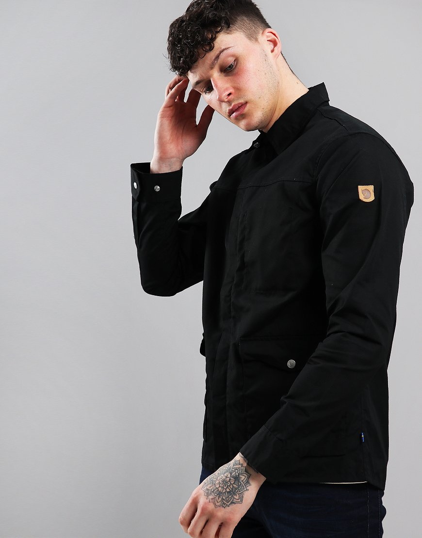 Fjällräven Greenland Zip Shirt Jacket Black